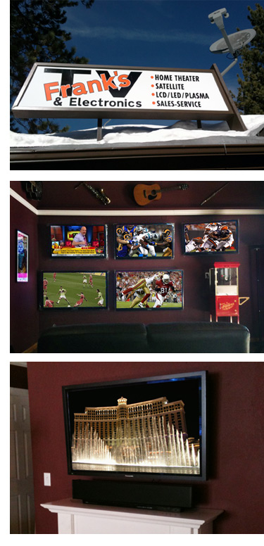 Frank S Tv And Electronics Tv Installation The Tv
